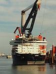 Aegir (ship, 2012) moored on the Calandkanaal.JPG