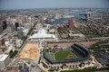 Aerial, Camden Yards Stadium, Baltimore, Maryland LCCN2010630244.tif