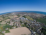 Aerial view of St Clement and Le Rocquier, Jersey.jpg