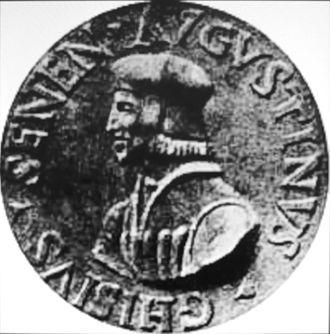 Agostino Chigi - Coin with a portrait of Agostino Chigi