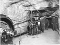 Air compressor and machinist at Giken mine.jpg