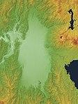 Aizu Basin Relief Map, SRTM-1.jpg