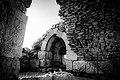 Ajloun Castle black and white.jpg
