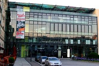 Academy of Arts, Berlin - Academy of Arts, Pariser Platz 4 in Berlin, opened 2005, architect Günter Behnisch
