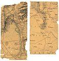Akershus amt nr 116-5- Kroki i blyant på tykt papir av terrenget hovedsakelig vest for Jessheim og syd for Gardermoen, 1853.jpg