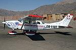 Alas Peruanas Cessna U206G Stationair 6 at Nazca Airport.jpg