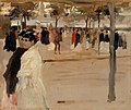 Albert Edelfelt - Study for the Shore Road in San Telmo, Seville - A-2002-580 - Finnish National Gallery.jpg