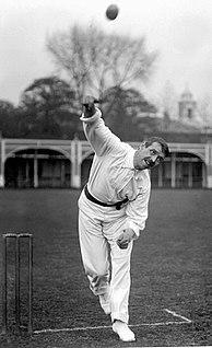 Albert Hallam English cricketer