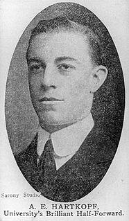 Albert Hartkopf Australian sportsman