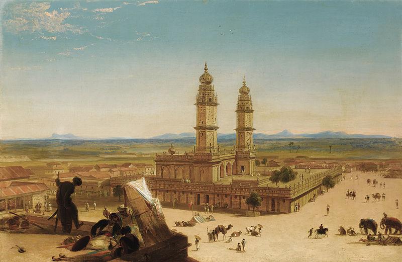 File:Alberto Pasini (attr.) - Oriental landscape with Mosque.jpg