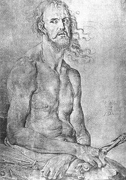 Albrecht Dürer - Self-Portrait as the Man of Sorrows - WGA07108