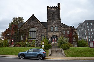 Albright United Methodist Church - The church in 2018