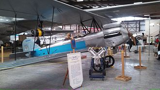 "Colorado Aviation Historical Society - CAHS's Alexander Eaglerock 24,(NC2568), ""Longwing"" on display at Pueblo Weisbrod Aircraft Museum, Pueblo, Colorado, 2013"