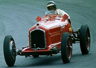 Alfa Romeo P3 - Image: Alfa Romeo P3, Bj 1932, de Cadenet 1977 08 14 B