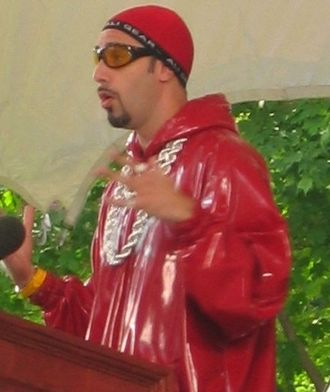 Music (Madonna song) - Comedian Sacha Baron Cohen appeared in the music video as his character, Ali G (pictured above).