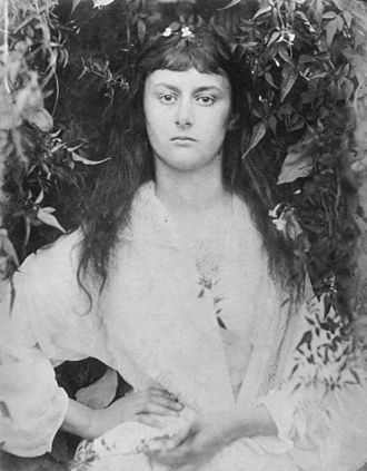 Alice Liddell - Alice Liddell at the age of 20, photographed by Julia Margaret Cameron