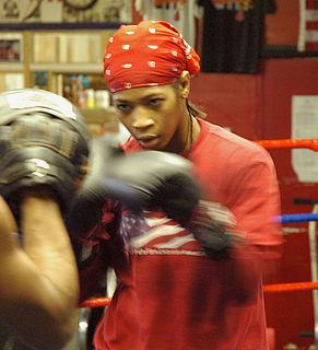 Alicia Ashley American boxer