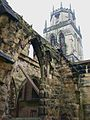 All Saints, Pontefract, tower.JPG
