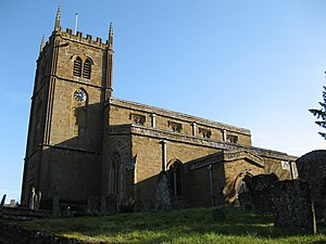 Wroxton - Image: All Saints Church, Wroxton geograph.org.uk 1771681
