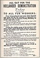 All out for the Hollander Demonstration, Hollander & Sons, USA 1937.jpg