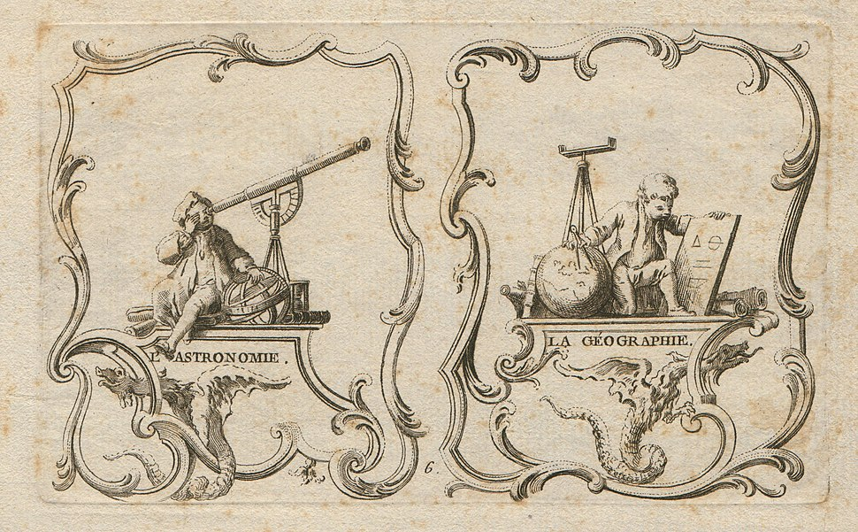 Allegories of astronomy and geography