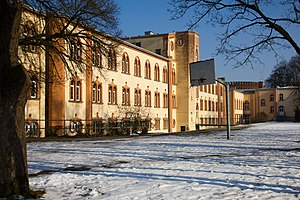 Aloysian College. Austria - Image: Aloisianum Rückseite