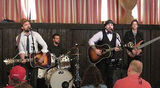 Alpha Rev - Alpha Rev performing in 2015