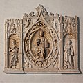 Altarpiece with Christ, Saint John the Baptist, and Saint Margaret, Metropolitan Museum of Art.jpg