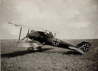 LFG Roland D.II - Image: Am Flugplatze (Bild ID 15531513)