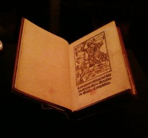 Amadís de Gaula - First surviving edition, 1508; University of California, Berkeley