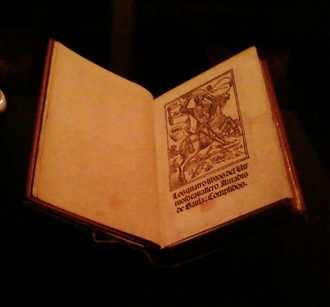 Amadís de Gaula - First surviving edition, 1508; University of California, Berkeley