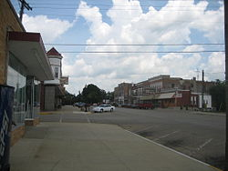 Downtown Amboy, Illinois