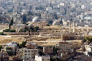 Amman Citadel - Amman Citadel ruins