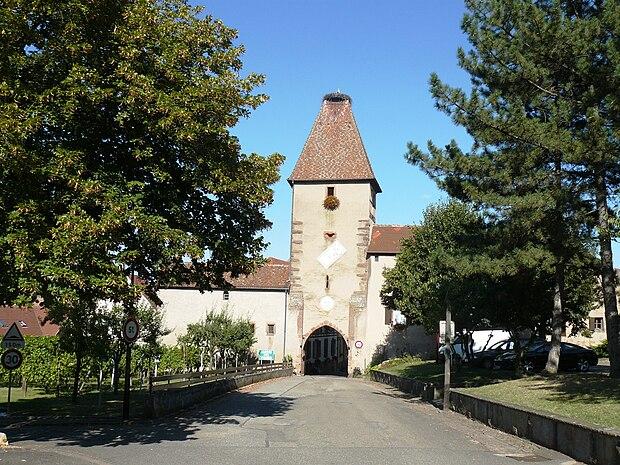 Monument historique à Ammerschwihr