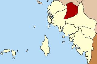 Manang District, Satun District in Satun, Thailand