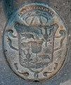 Amsterdam - Oude Kerk - coat of arms burial.JPG