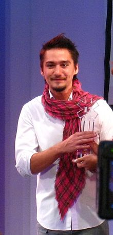 Anada everingham at 6th anniversary of Seventeen pic 2.jpg