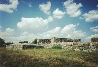 Sucidava Dacian and Daco-Roman historical site in Corabia, Romania