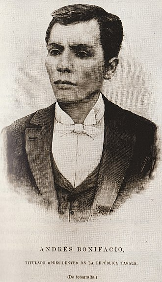 Tagalog people - Andrés Bonifacio, one of the founders of Katipunan.