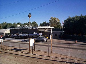 Andrade Port of Entry - Andrade Border Inspection Station