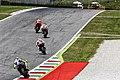 Andrea Iannone, Marc Márquez, Dani Pedrosa and Valentino Rossi 2015 Mugello.jpeg