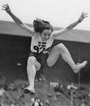 Ann-Britt Leyman - Leyman at the 1948 Olympics