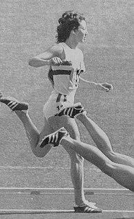 Ann Wilson (athlete) British hurdler, high jumper, long jumper and pentathlete