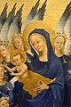 Anonimo inglese o francese, dittico wilton, 1395-99 ca. 06 madonna col bambino e 11 angeli 3.jpg