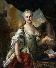 Portret Wielkiej Księżnej Katarzyny Aleksiejewny (późniejszej carycy Katarzyny II)