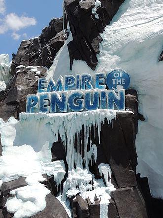 SeaWorld Orlando - Image: Antarctica Empire of the Penguin entrance 1