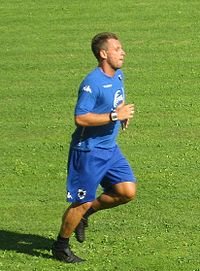 Antonio Cassano training.jpg