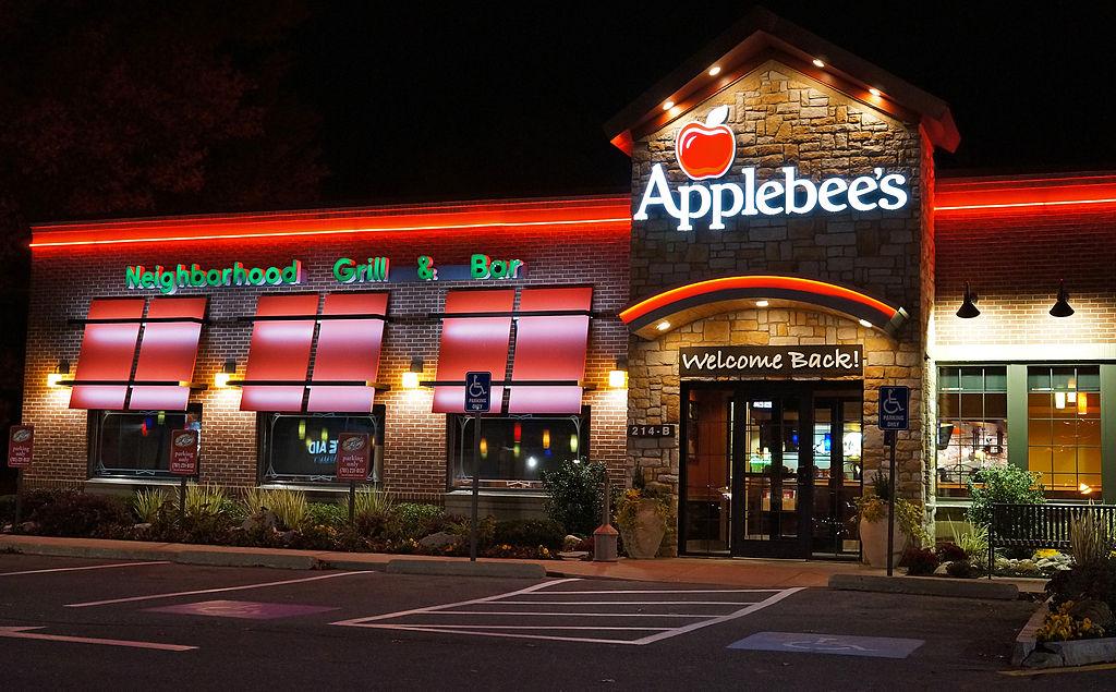 Applebee's night view