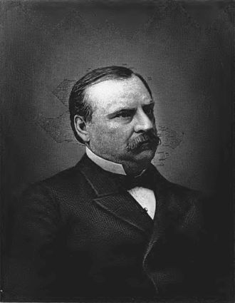 1888 in the United States - President Grover Cleveland, photo circa 1888, loses his re-election campaign this year, but is re-elected in 1892.
