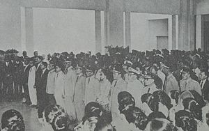 Dwikora Cabinet - The inaugaration of the Dwikora Cabinet on 27 August 1964
